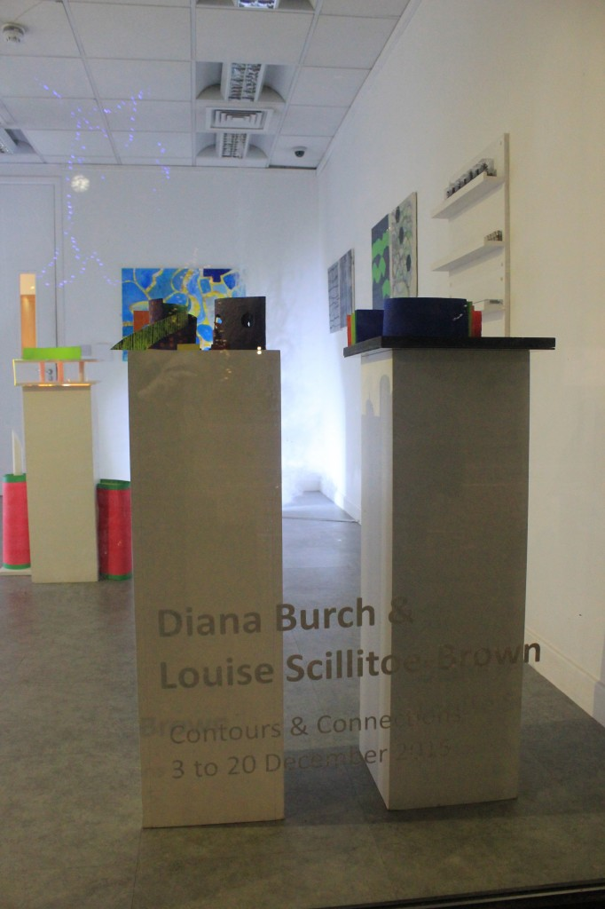 Diana Burch & Louise Scillitoe-Brown at The Stone Space